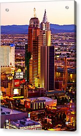 Raising Above The Desert Acrylic Print by James Marvin Phelps