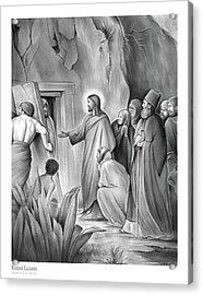Raising Lazarus Acrylic Print