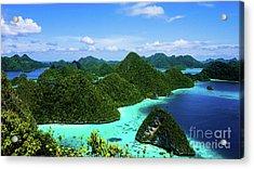 Raja Ampat Island Acrylic Print