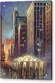 Raleigh With Symphony Tent Acrylic Print