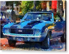 Rally Sport Acrylic Print
