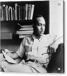Ralph Ellison 1914-1994, Author Acrylic Print by Everett