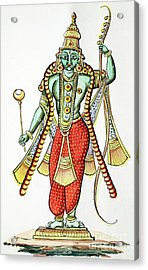 Rama, 7th Avatar Of Vishnu Acrylic Print
