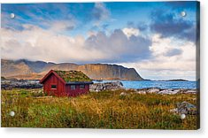 Acrylic Print featuring the photograph Ramberg Hut by James Billings