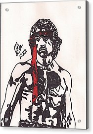 Rambo First Blood Part II Acrylic Print by Jeremiah Colley