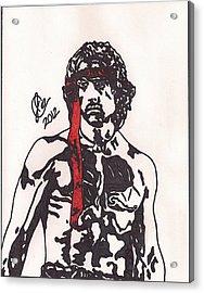 Rambo First Blood Part II Acrylic Print