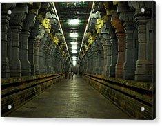 Rameshwaram Temple India Acrylic Print