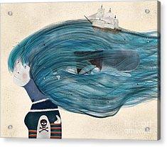 Acrylic Print featuring the painting Ramona by Bri B
