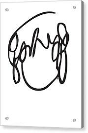 Ramona Flowers Black - Scott Pilgrim Vs The World Acrylic Print by Paul Telling