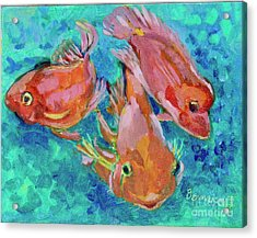 Ramshead Goldfish Acrylic Print