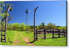 Ranch At Click Gap II Acrylic Print by Greg Reed