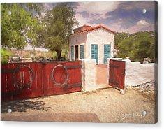 Ranch Family Homestead Acrylic Print