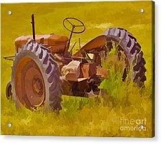 Ranch Hand Acrylic Print