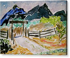 Ranch Outside Salida Acrylic Print
