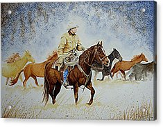 Ranch Rider Acrylic Print