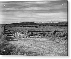 Ranch Road Acrylic Print