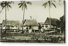 Acrylic Print featuring the photograph Ranch Scene San Antonio Guam by eGuam Photo
