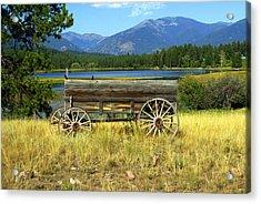 Ranch Wagon 3 Acrylic Print by Marty Koch