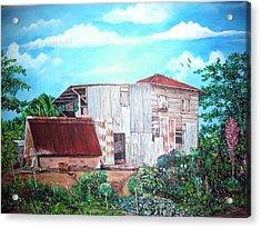 Rancho Viejo Acrylic Print by Jose Lugo