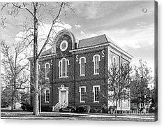 Randolph- Macon College Franklin Hall Acrylic Print