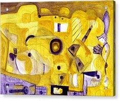 Random Landscape Acrylic Print