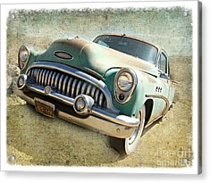 Randsburg Buick Acrylic Print