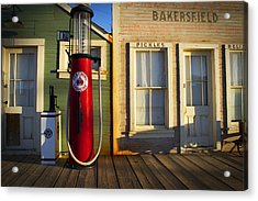 Randsburg Pump Acrylic Print by Mike Hill