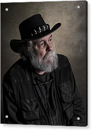 Randy Nyhof Self Portrait Acrylic Print by Randall Nyhof