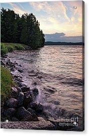 Rangeley Lake State Park In Rangeley Maine  -53215-53218 Acrylic Print