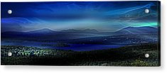 Rangeley Magic Sunset Acrylic Print