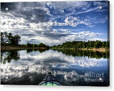 Acrylic Print featuring the photograph Rankin Bottoms Hdr by Douglas Stucky