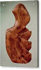 Rapa Nua Acrylic Print by Lonnie Tapia