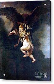 Rape Of Ganymede Acrylic Print
