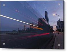 Rapid Transit Acrylic Print