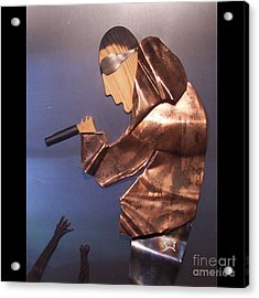 Rapper Acrylic Print by Jeff  Williams