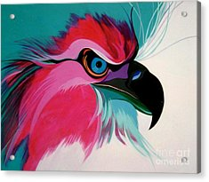 Raptor Rapture Acrylic Print