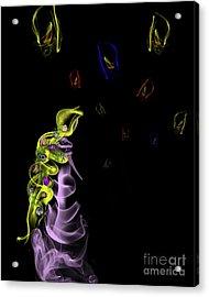 Rapunzel's Magic Flower Braid Acrylic Print