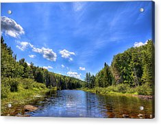 Raquette River Headwaters Acrylic Print by David Patterson