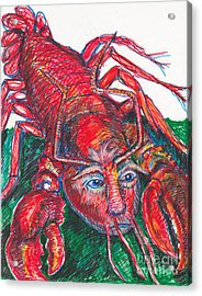 Rare Trump Lobsters Have Little Hands Acrylic Print