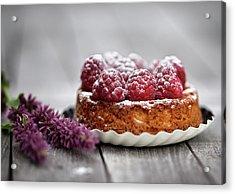 Raspberry Tarte Acrylic Print