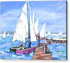 Rather Be Sailing Acrylic Print