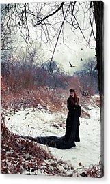 Raven Queen Acrylic Print