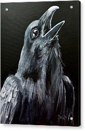 Raven Song Acrylic Print