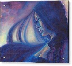 Raven Sunrise Acrylic Print
