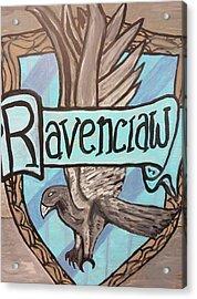 Ravenclaw Acrylic Print