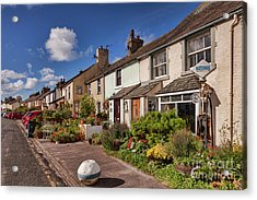 Acrylic Print featuring the photograph Ravenglass Cottages by Colin and Linda McKie