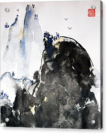 Raven's Mountain Acrylic Print