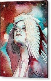 Ravensara Acrylic Print by Ragen Mendenhall