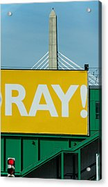 Ray Acrylic Print by Art Ferrier
