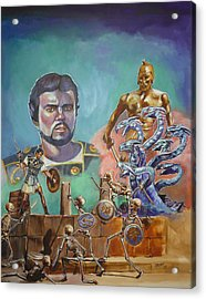 Ray Harryhausen Tribute Jason And The Argonauts Acrylic Print